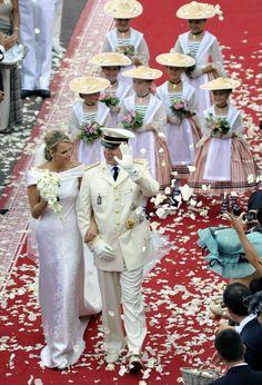 Prince Albert II and Princess Charlene of Monaco's Wedding
