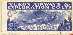 Canadian semi-postal air stamps - British Columbia Airways Limited