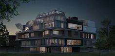NEST – das Haus der Zukunft der #Empa in #Dübendorf. #NEST #House of the #Future.