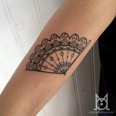 #tatouage #tattoo #eventail #fan