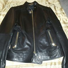 Laundry Leather (REAL) Jacket Size XS (NEVER WORN)!!! Price Firm!!! Laundry by Shelli Segal Jackets & Coats