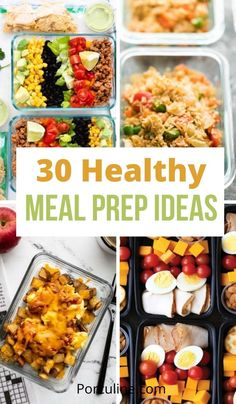Health Meal Prep, Easy Healthy Meal Prep, Healthy Low Calorie Meals, Best Meal Prep, Meal Preparation, Healthy Dishes, Calorie Diet, Healthy Cooking, Easy Meals