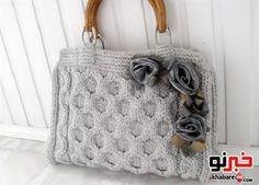 مدل جدید کیف های بافتنی 2013