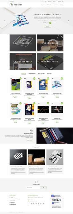 PrestaShop Theme , Designex - Corporate design