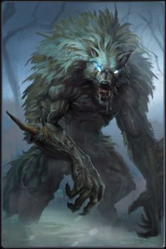Berserkers may have been the predecessor to werewolves because the fighters wore pelts into battle and fought like fierce animals.: