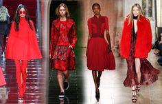 Trendfarbe 2015/2016: Wir sehen Rot! - Merkt euch das! 8 Modetrends im Herbst/Winter 2015/2016 - gofeminin