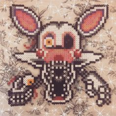"""yes, another fnaf work... they're so much fun to do ✨ not my original pixel (although to had to change SO many colours on the muzzle) took me about 4/5…"""