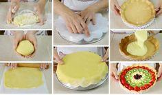 Base di pasta frolla per crostate di frutta