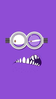 iPhone Wallpaper - Purple Minion tjn                                                                                                                                                      Más