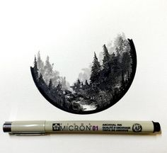 Tatto Ideas 2017 Instagram photo by Derek Myers May 5 2016 at 1:09pm UTC #LandscapeDrawing