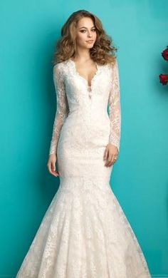 Allure Bridals Allure 9260: buy this dress for a fraction of the salon price on PreOwnedWeddingDresses.com