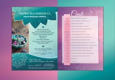 Graphic design of a business flyer. #graphicdesign #design #brochure #flyer #business