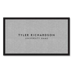 professional graduate student business card - Student Business Card