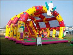 massive bouncy castle - Google Search
