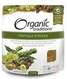 """Triphala is one of the most important herbal preparations in Ayurvedic Medicine. In Sanskrit, Triphala means """"three fruits"""" and true to its name, it is a blend of three fruits: Amalaki or Amla, Bibhitaki and Haritaki. Believed to restore balance to all three doshas: Vata, Pitta and Kapha, it is one of the most used tonics in Ayurveda for whole body cleansing and balancing. Triphala can be used for daily, gentle cleansing and detoxification, for promoting regularity, and for opti..."""
