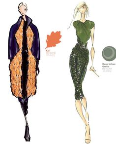 fall winter 2013 2014 new york fashion week color report, pantone, Bibhu Mohapatra, Pamella Roland by Pamella Devos