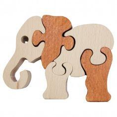 fair trade Elephant Jigsaw