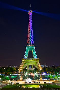 Eiffel Tower in Paris_ France Torre Eiffel Paris, Paris Eiffel Tower, Beautiful Paris, I Love Paris, Paris Wallpaper, Paris At Night, Visit France, Paris City, Paris Travel