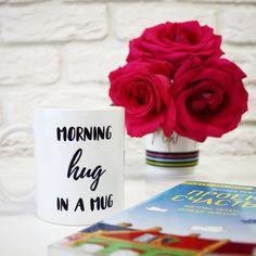 Пусть ваше утро всегда начинается с такой милой чашечки чая ☺ #cups #mugs #кружки #motivation #quotes #мотивация #утро #morning #morninghuginamug