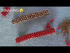 seed bead bracelet patterns for beginners Seed Bead Bracelets Tutorials, Beaded Bracelets Tutorial, Beaded Bracelet Patterns, Beading Tutorials, Bracelet Designs, Embroidery Bracelets, Handmade Bracelets, Seed Bead Patterns, Beading Patterns