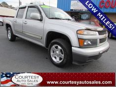 2010 Chevrolet Colorado LT Crew-Cab! 61,912 MILES!  -- GOOD On GAS! -- CLEAN CAR-FAX! -- Price INCLUDES A 3 MONTH/3,000 Mile WARRANTY! -- CALL TODAY! * 757-424-6404 * FINANCING AVAILABLE! -- Courtesy Auto Sales SPECIALIZES In Providing You With The BEST PRICE On A USED CAR, TRUCK or SUV! -- Get APPROVED TODAY @ courtesyautosales.com * Proudly Serving Your USED CAR NEEDS In Chesapeake, Virginia Beach, Norfolk, Portsmouth, Suffolk, Hampton Roads, Richmond, And ALL Of  Virginia SINCE 1976!
