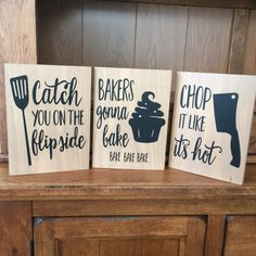Kitchen Decor Funny Kitchen Signs Rustic by HeartfeltByDonna