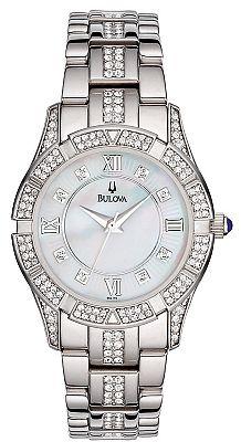 Bulova 96L116 Bulova Women's Crystals Watch,