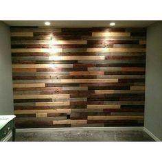 Recubrimiento Muro De Madera Maciza Pared Pallet Palet - $ 530.00