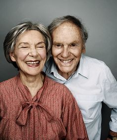 Emmanuelle Riva, 84, and Jean-Louis Trintignant, 81, gave astonishing performances in the film Amour in 2012. This painful drama confronts the topic of ageing and death head on. They are nominated together for the #60over60 hot list of the world's most inspiring over 60s.