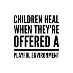 Play therapy offers children the room to explore and work through trauma as an adult might do with talk therapy