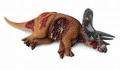 CollectA Triceratops - Dead Dinosaur Toy Model in stock & same day shipping! Shop www.DinosaurToysSuperstore.com today!