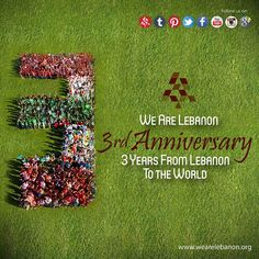 It has been 3 Years Since we launched We Are Lebanon, and ever since we haven't stopped from Showing Lebanon's Beauty and Spreading positive vibes from Lebanon to the Lebanese all over the world!  We Promise to continue what we have started, thanks to everyone's support!  #Lebanon #WeAreLebanon