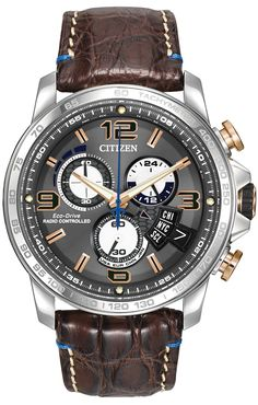 Citizen Citizen Eco-Drive Chrono-Time A-T Limited Edition BY0100-01H Atomic Timekeeping