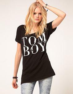Just Female Tom Boy T-Shirt