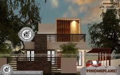 Indian Home Plan Design Online Double Storey Small House Plans Duplex House Design, House Front Design, Small House Design, Plan Duplex, Duplex House Plans, Home Design Images, House Design Pictures, Simple House Plans, Modern House Plans