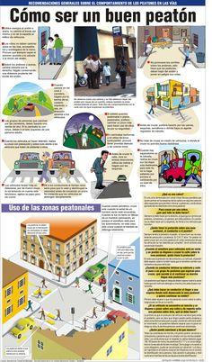 #CeproTips ¿Cómo ser un buen peatón? #Infografía #Venezuela