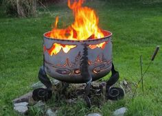 Purchase your own Death Star Fire Pit! These are made by my 85 ...