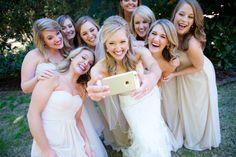 bridesmaid selfie #thetrolleybarn  Graceology Photography