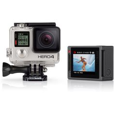 Probably the best gift around for adrenaline junkies: HERO4 Silver #GoPro at RockCreek.com