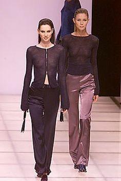 Giorgio Armani Fall 2000 Ready-to-Wear Collection Photos - Vogue