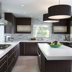 Majestic 25 Inspiring Light Cabinets Dark Countertops https://decorisme.co/2018/03/02/25-inspiring-light-cabinets-dark-countertops/ What you enhance your kitchen ought to be an expression of your own personal taste and fashion.