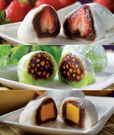 Дайфуку Моти: японские сладости | Colors.life