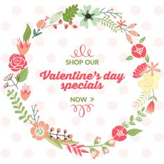 Are you offering any special discount to your customers this Valentine's Day? Use these free images from Volusion to help promote your offers on your website.