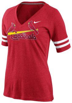 St Louis Cardinals Nike T-Shirt - Cardinals Red Fan Top Short Sleeve Tee http://www.rallyhouse.com/shop/st-louis-cardinals-nike-125191005?utm_source=pinterest&utm_medium=social&utm_campaign=Pinterest-STLCardinals $35.00