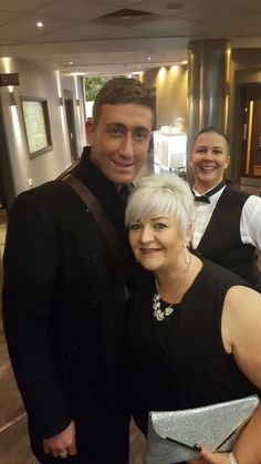 Chris Maloney! Great photo bomb Ellie