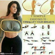Give your breast an attractive shape and size #women #breast #health #girl Te diremos el famoso truco del limón para que se te levante la cola y el busto también, toma lápiz y papel no te lo pierdas