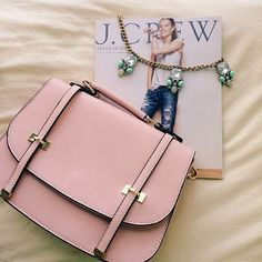 "Spotted while shopping on Poshmark: ""Blush Pink Cross-body Satchel""! #poshmark #fashion #shopping #style #Handbags"