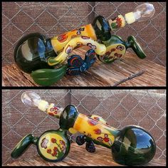 Layback Bubbler Rig Contact @KatalyticGlass for prices and questions.