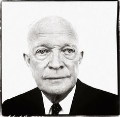 Former president, Dwight D. Eisenhower, by Richard Avedon. Can he come back and run again?