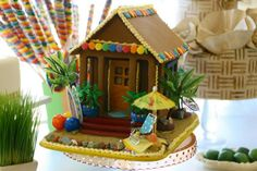 Gingerbread hut...